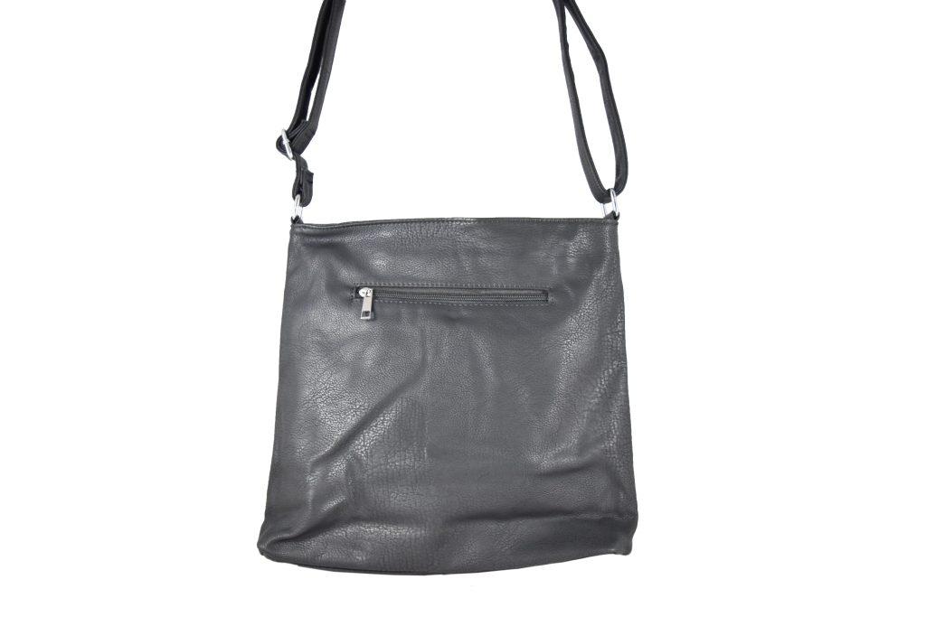 Дамска чанта за през рамо с капак