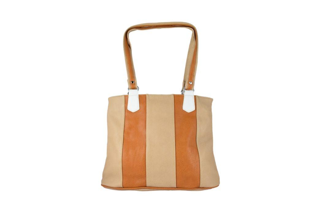 Дамска чанта за през рамо в светли нюанси